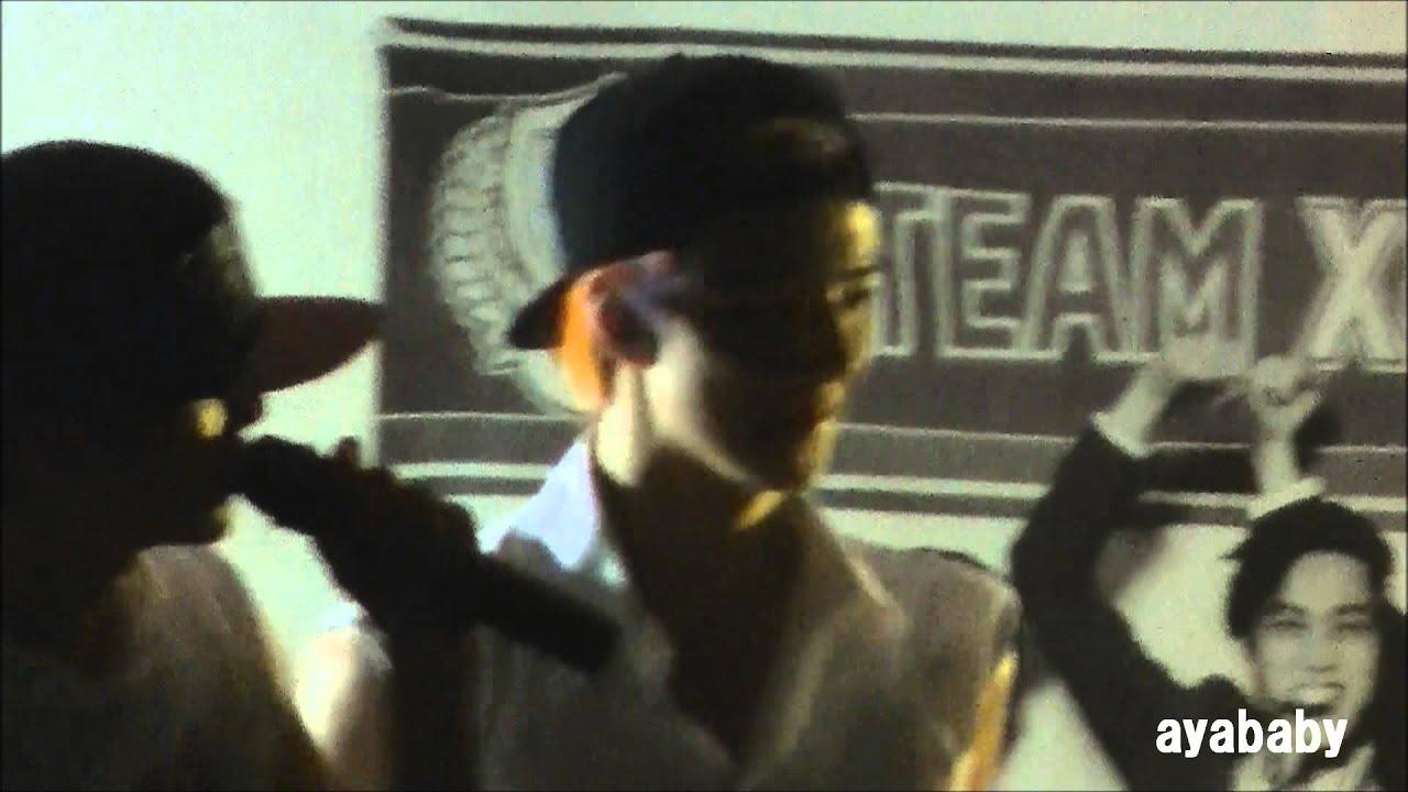 130614 EXO Gimpo Fansign KAI crying - YouTube