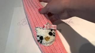 Вязание Гетр для детей своими руками. Видео №6