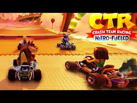CTR: Nitro-Fueled Online - Arriving First Is Not Enough To Win | Insane Races Without Items #36