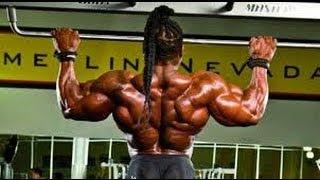 Kai Greene -  Back Workout  2013