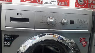 how to use ifb 7kg front load fully automatic washing machine model serena aqua sx 7kg 1000rpm