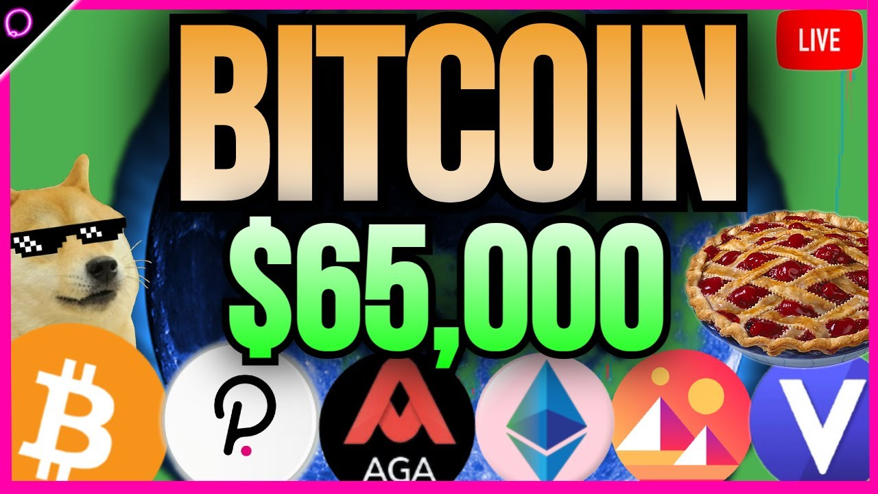 SUPER STREAM Could Bitcoin really hit $65,000 this week?!