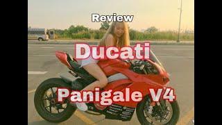 [ Review ] Cảm nhận thực tế Siêu Xe Ducati Panigale V4 - kỷ nguyên mới của Ducati - Minh Biker