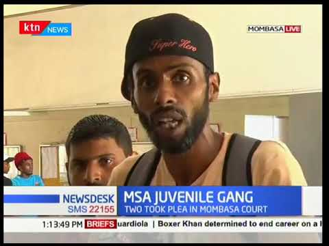 Juvenile gangs fight each other in Mombasa County