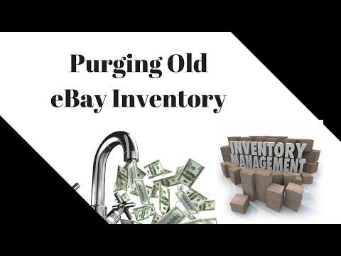 Purging Old eBay Inventory - Cash Flow & Efficiency - Preparing to Move!