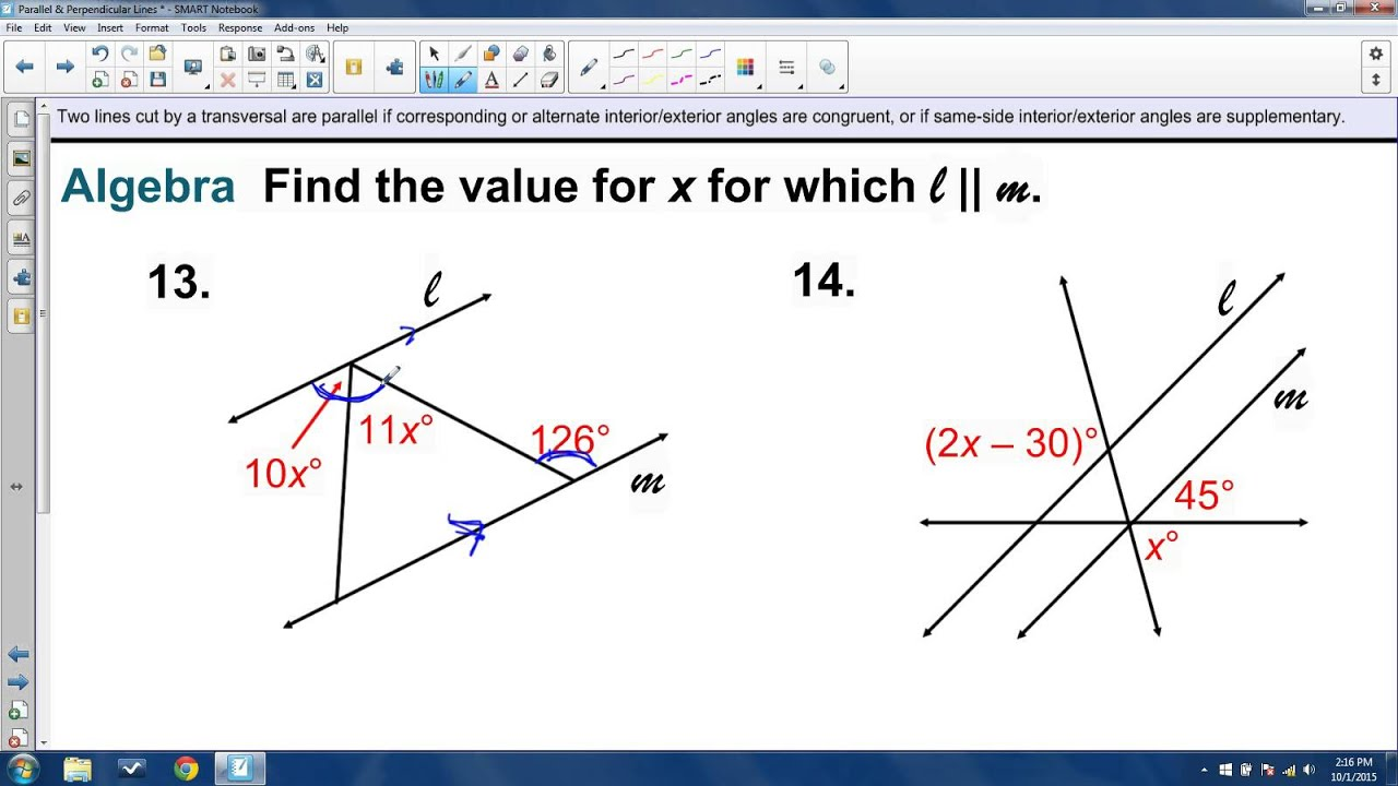worksheet Perpendicular Lines unit 2 review parallel perpendicular lines and angle relationships