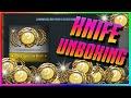 CS GO Case Opening - GAMMA CASE KNIFE! (CS GO Knife Unboxing Reaction!)