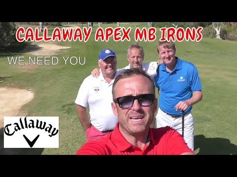 CALLAWAY APEX MB IRONS WE ALL NEED ASAP -THIS IS CRAP GOLF