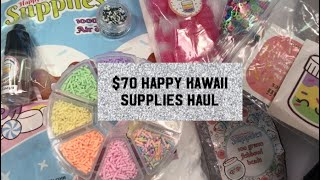 $70 Slime Supply Haul! Feat. Happy Kawaii Supplies!