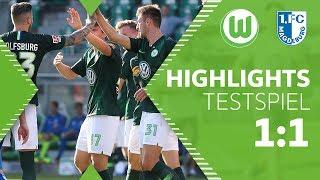 VfL Wolfsburg - 1. FC Magdeburg 1:1 | Highlights | Testspiel