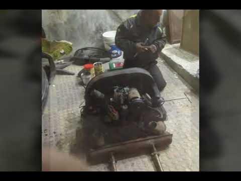 Vw beetle engine painting