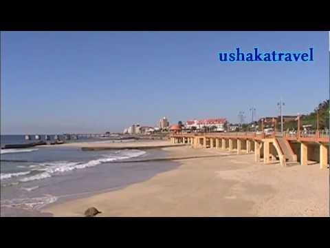 South Africa/Port Elizabeth seafront and market
