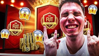 NIESAMOWITE CZERWONE PLAYER PICKI! / FIFA 19 NAGRODY FUT CHAMPIONS ULTIMATE TEAM PL