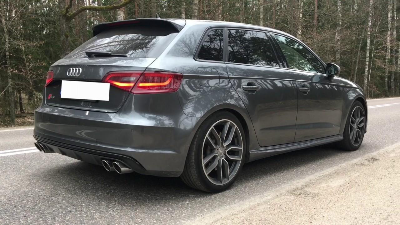 Audi S3 Sportback REMUS Exhaust