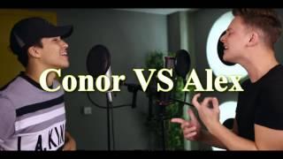 Alex Aiono VS Conor Maynard -24K Magic |Sing Off| (Lyrics)
