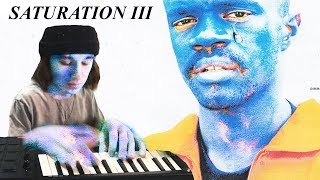 Sampling Every Song off SATURATION III in ONE BEAT