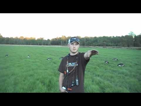 Canada Goose hats replica official - Goose hunting decoy spread tip - YouTube