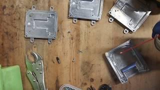 HOWTO cut threads in microRusEfi case