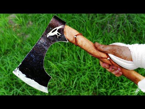 YouTube's Worst Blacksmith Makes A Viking Axe!