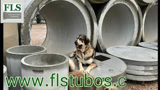 FLS tubos para riego y drenajes. Prefabricados de hormigón , tubos de hormigón.