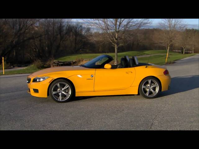 Road Test 2012 Bmw Z4 Roadster Video Watch Now Autoportalcom