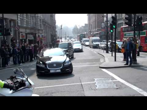 Metropolitan Police Special Escort Group + London Ambulance Service