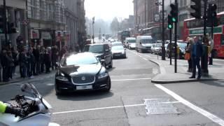 Metropolitan Police Special Escort Group + London Ambulance Service