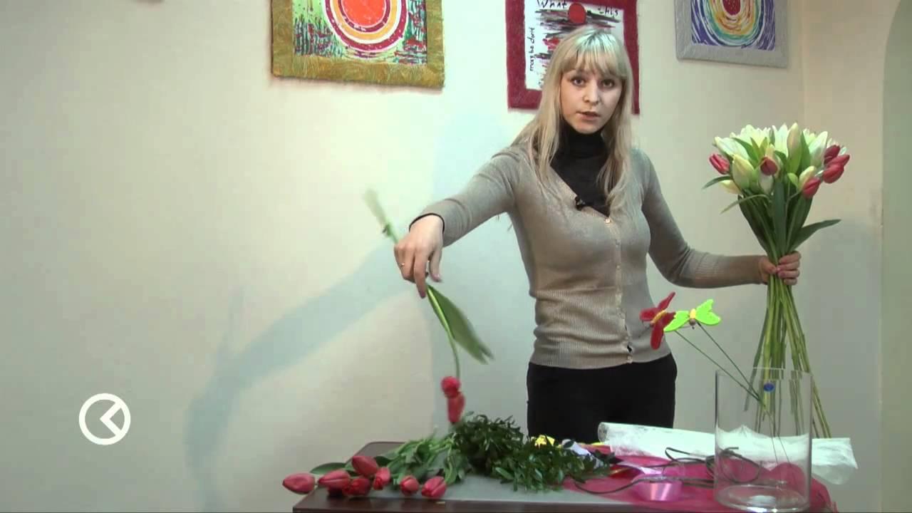 Букет из тюльпанов своими руками фото 656