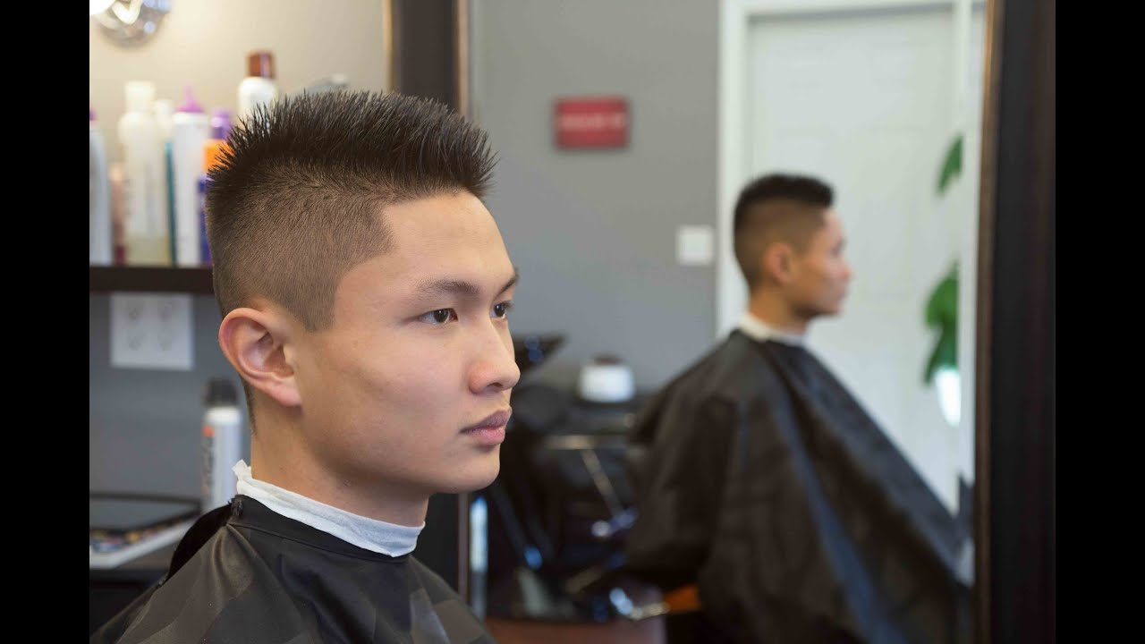 Fade Haircut Long On Top 1 On The Sides Youtube