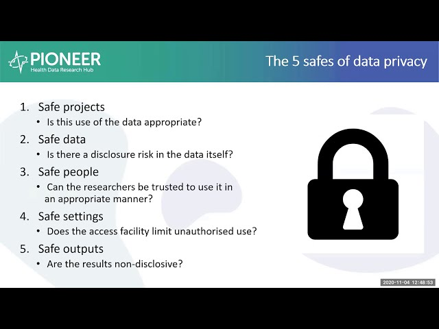 How is health data controlled and governed