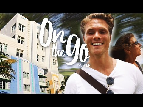 On the go with EF #27 – Filip goes on an Art Deco Tour in Miami