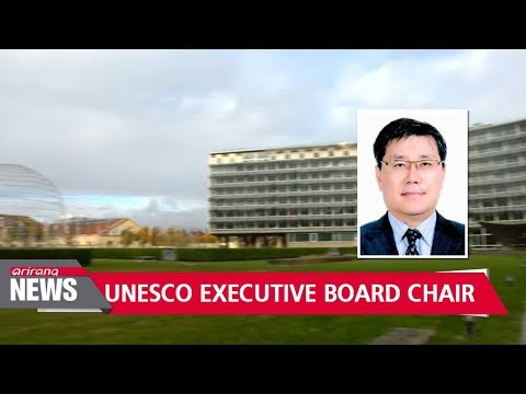 Korean ambassador to UNESCO elected new chair for its executive board