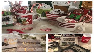 NEW FINDS AT DOLLAR TREE AND 🎄CHRISTMAS DECOR