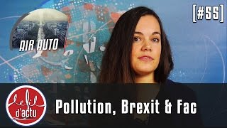[Fil d'Actu #55] Crit'air de pollution, Brexit fiscal et Orientation à la fac