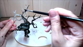 DIY Wire Tree Tutorial - How to make easy DIY Miniature Wire Tree
