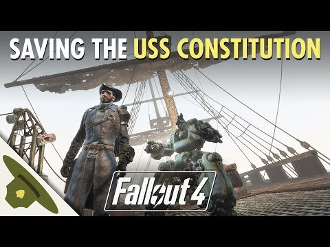 FALLOUT 4: General Dave saves the USS Constitution