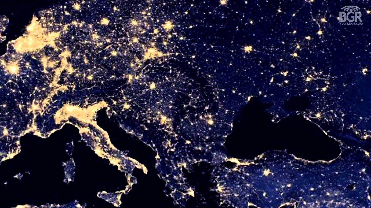 Google Maps Lets You Explore Night City Lights On Earth