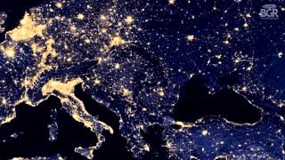 Google Maps lets you explore night city lights on Earth with NASANOAA