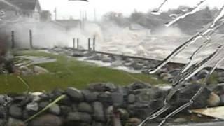 November storm in St. Andrews NB