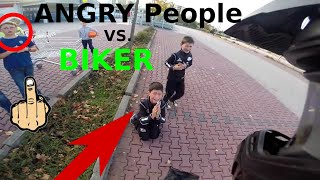 ANGRY PEOPLE VS Biker COMPILATION Vol.16 | 2016