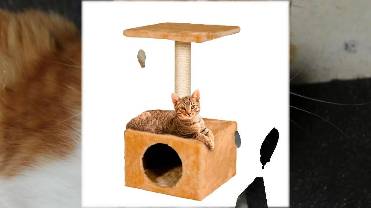 КОГТЕТОЧКА своими руками. Игровой комплекс для кошки. - YouTube