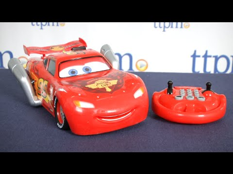 u command lightning mcqueen from thinkway toys youtube. Black Bedroom Furniture Sets. Home Design Ideas
