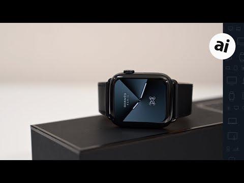 Hands On: Hermes $1300 Space Black Series 5 Apple Watch!