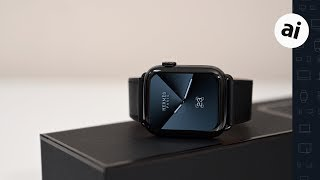 Gambar cover Hands On: Hermes $1300 Space Black Series 5 Apple Watch!