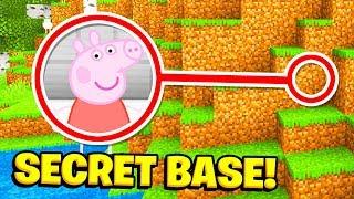 Minecraft: We FOUND PEPPA PIGS SECRET BASE! (Ps3/Xbox360/PS4/XboxOne/PE/MCPE)