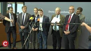 Merkel-Schreck im Bundestag: So verlief die erste Sitzung der AfD-Fraktion