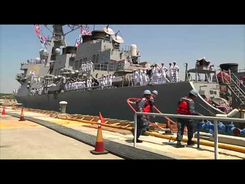 USS Donald Cook Returns to Naval Station Rota