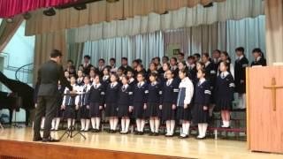 顯理中學合唱團-總綵排