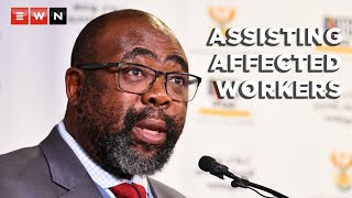 Employment and Labour Minister Thulas Nxesi addressed the media on 28 July 2021 where he made it clear that the department was aware that some industries would not recover from this month's looting and that it was aiming to retrain workers who would be affected and redirected into other industries.  #LabourDepartment #ThulasNxesi #COVIDReliefFund #UIF
