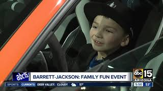 Barrett-Jackson: Family fun event